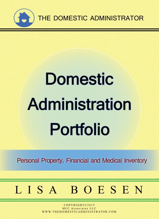 Domestic Administrator Portfolio