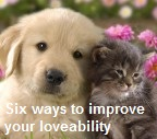 Six Ways to Improve your Loveability